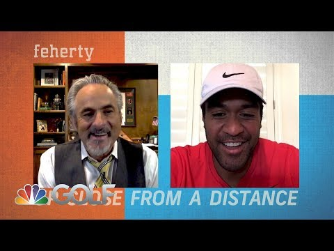 Feherty Up Close from a Distance with Tony Finau | Golf Channel ...