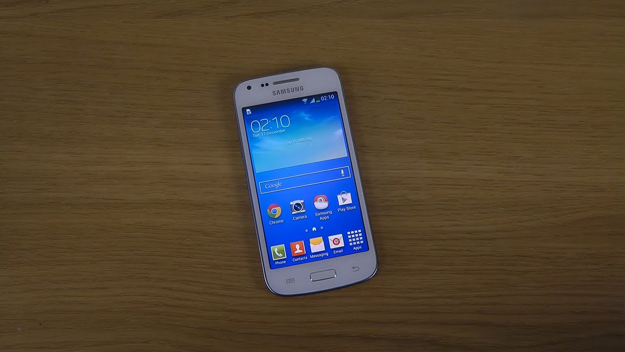 Samsung Galaxy Core Plus - First Look - YouTube