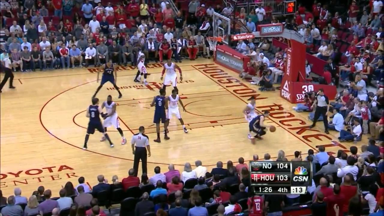 Houston Rockets' Comeback Win over the New Orleans Pelicans (Final Minutes of the Game)