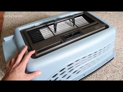 Petmate 2 Door Top Load Kennel 24 Inch Pet Carrier Review and Assembly
