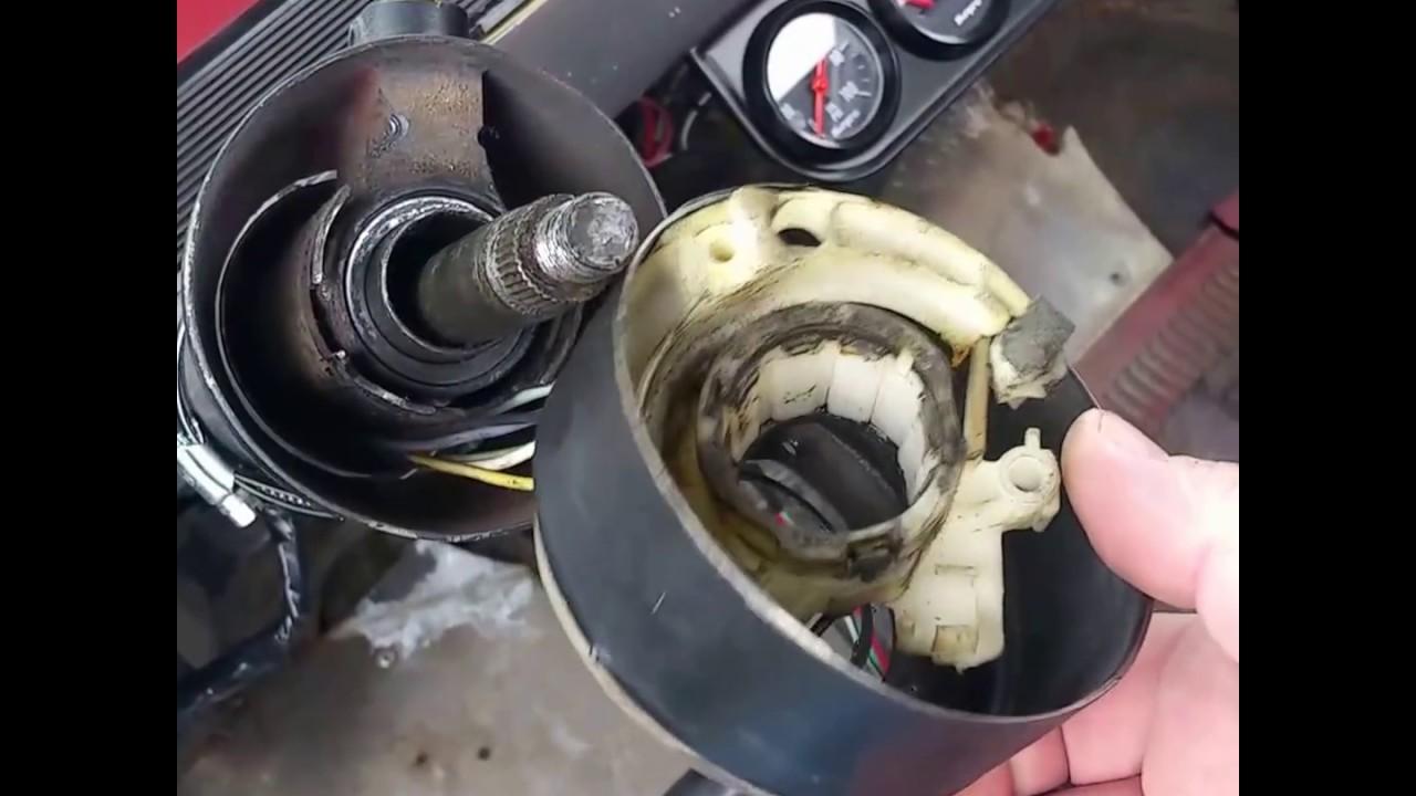 66 C10 steering column crap  YouTube