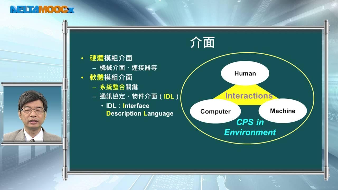 工業4.0導論_郭重顯_單元七 網宇實體系統介紹_7.4 系統設計 - YouTube