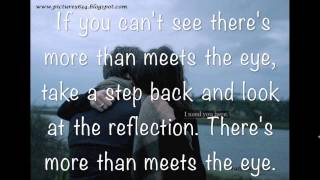 More than meets the eye by Chevy Levett lyrics