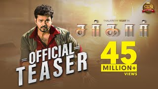Download Video Sarkar - Official Teaser [Tamil] | Thalapathy Vijay | Sun Pictures | A.R Murugadoss | A.R. Rahman MP3 3GP MP4