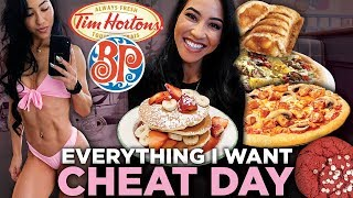 Fitgirl Dream Cheat Day | Eating Whatever I Want for 1 Day