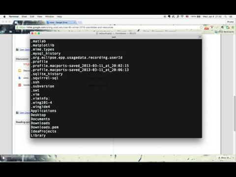 Set up vim and use it on mac