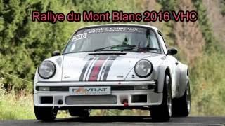 Porsche 911 groupe 4 Rallye du Mont Blanc 2016 VHC inboard