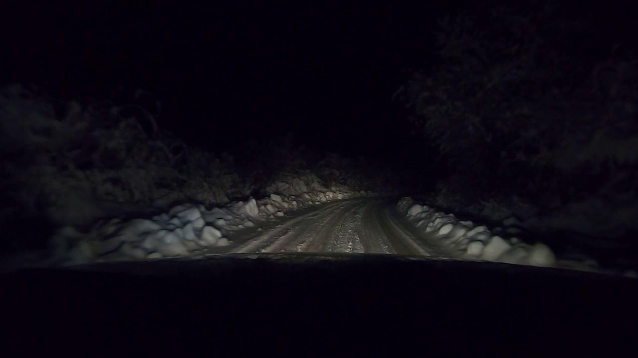 Audi A6 2.5 TDI V6 quattro -  Fast mountain run on snow