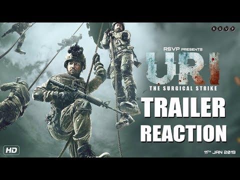 URI Trailer Reaction  Vicky Kaushal Yami Gautam Paresh Rawal
