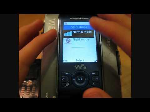 Sony Ericsson W595 Video clips
