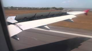 Video AirAsia Airbus A320 landing Denpasar/Bali download MP3, 3GP, MP4, WEBM, AVI, FLV Juni 2018