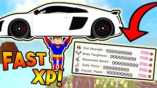 HOW TO GAIN XP FAST! | ROBLOX: Super Power Training Simulator