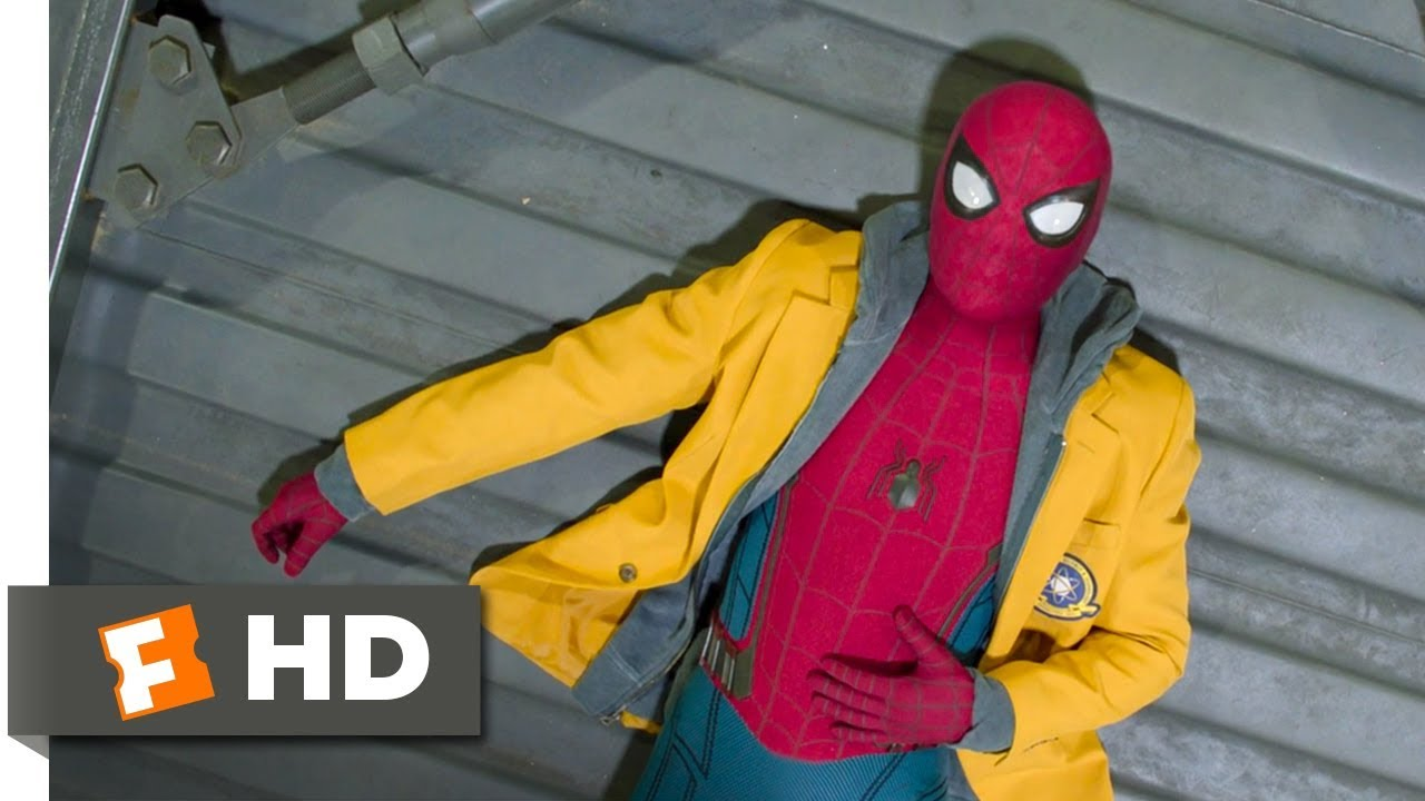 2abee8032 Spider-Man: Homecoming (2017) - Damage Control Warehouse Scene (2/10) |  Movieclips