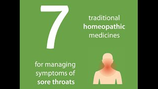 Homeopathy and sore throats