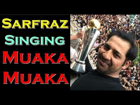 Download Sarfraz Singing Muaka Muaka after Returning Pakistan | Icc Champions Trophy 2017 Pictures