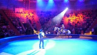 Степан Меньшеков выступает в ЦИРКЕ