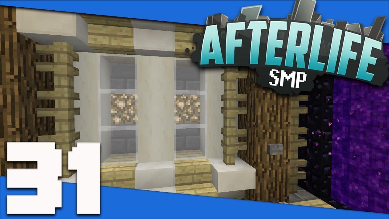 Minecraft Afterlife Smp S2 31 Base Nether Tunnel Design