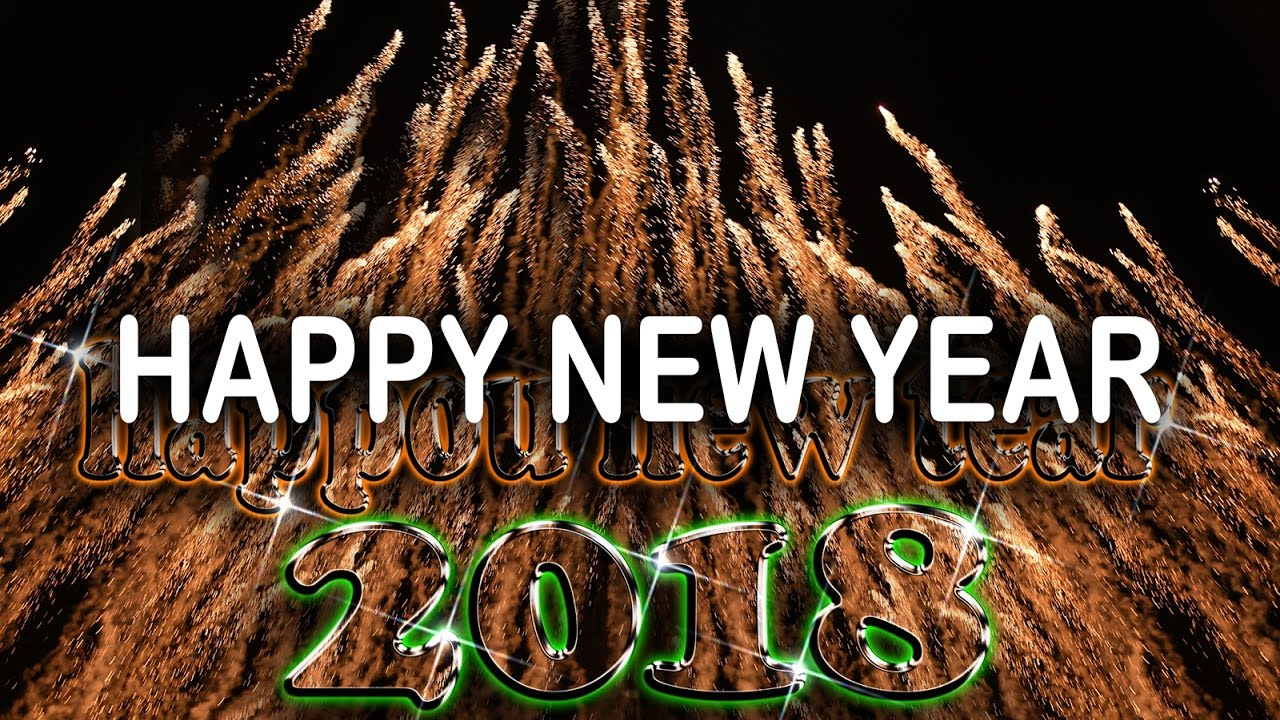 happy new year 2018 countdown | Free downloads HD Videos | new tv ...
