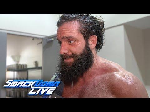 Elias celebrates with his eyes on the exits: SmackDown Exclusive, Aug. 20, 2019