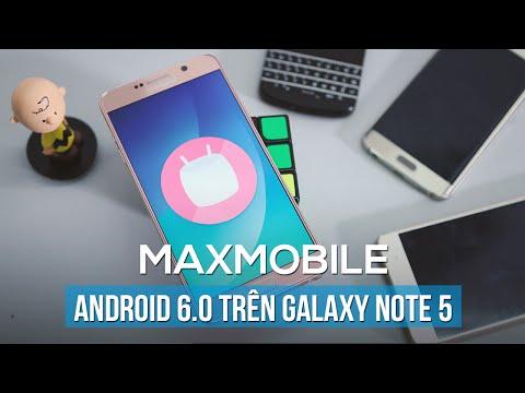 Chi tiết cấu hình Samsung Galaxy Note 5