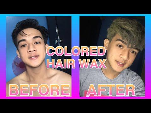 """Penshoppe Colored Hair Wax"" (Blonde Color)"