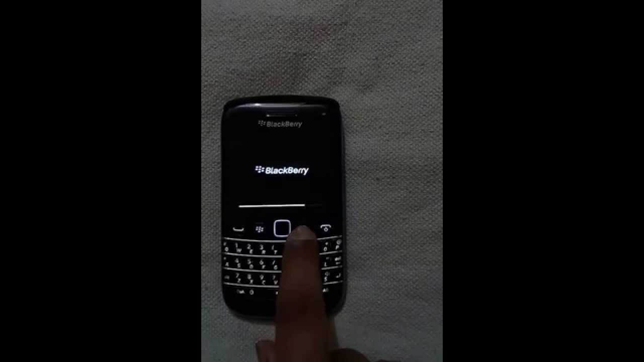 How to start blackberry device in safe mode - YouTube
