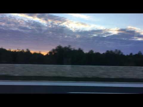 Split - Travel Day Bus Trip to Zagreb Sunset