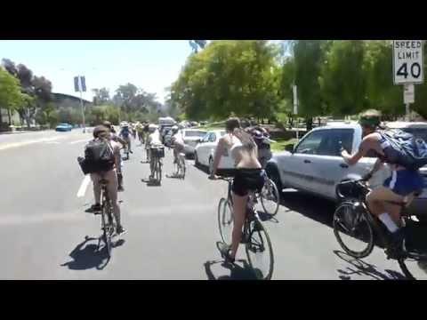 World Naked Bike Ride 2019 - YouTube