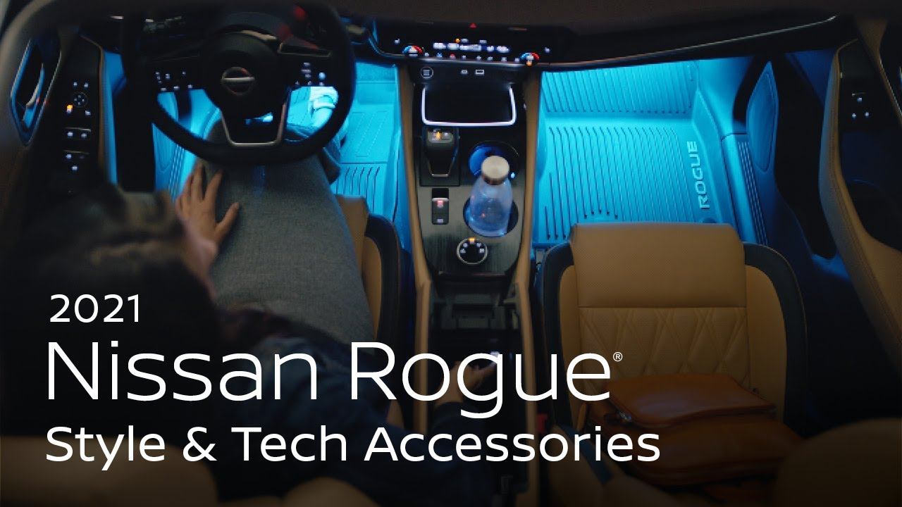 2021 Nissan Rogue Style and Tech Accessories