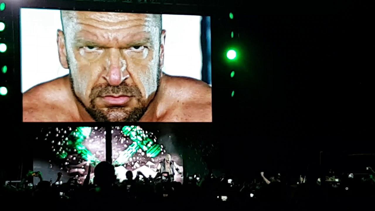 Download #WWEGlasgow - Main Event - Bray Wyatt/Sheamus&Cesaro vs The Shield/HHH [Entrance/Match] Part 1