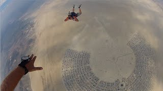 burning man skydiving art cars fireworks other highlights