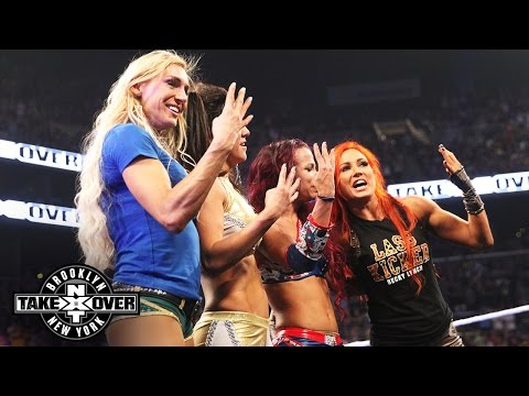 The women of NXT take a curtain call: NXT TakeOver: Brooklyn, only on WWE Network