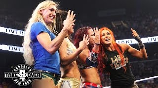 WWE Network: The women of NXT take a curtain call: NXT TakeOver: Brooklyn