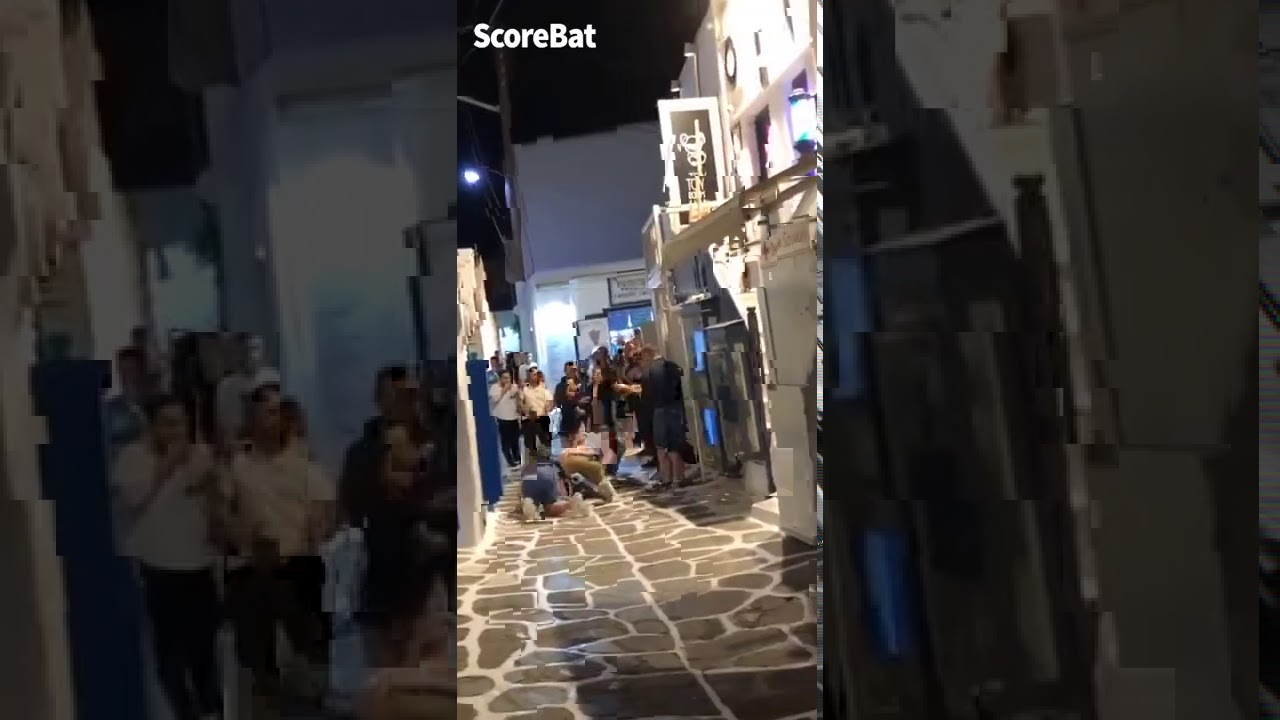 Harry Maguire got into a fight outside a bar in Mykonos