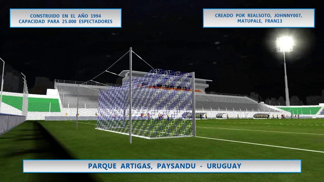 WSP6 Estadio Parque Artigas, Paysandu, Uruguay