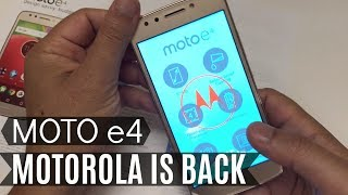 Moto E4 Unboxing / Review | MetroPCS T-Mobile