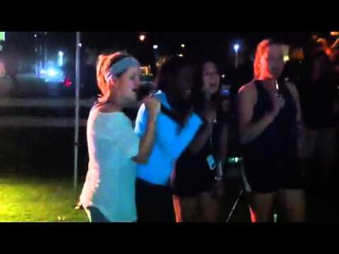 Relay Karaoke Girls