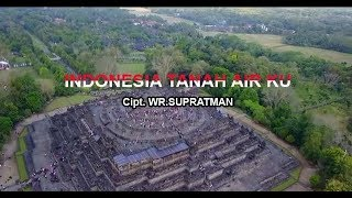 Lagu Indonesia Raya with intro and Text