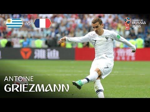 Antoine GRIEZMANN Goal – Uruguay v France – MATCH 57