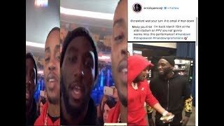 """WHOA🔥TERENCE CRAWFORD RAN DOWN ON ERROL THE WEIGHT BULLY SPENCE 😱""""Mikey to small fight me wow"""