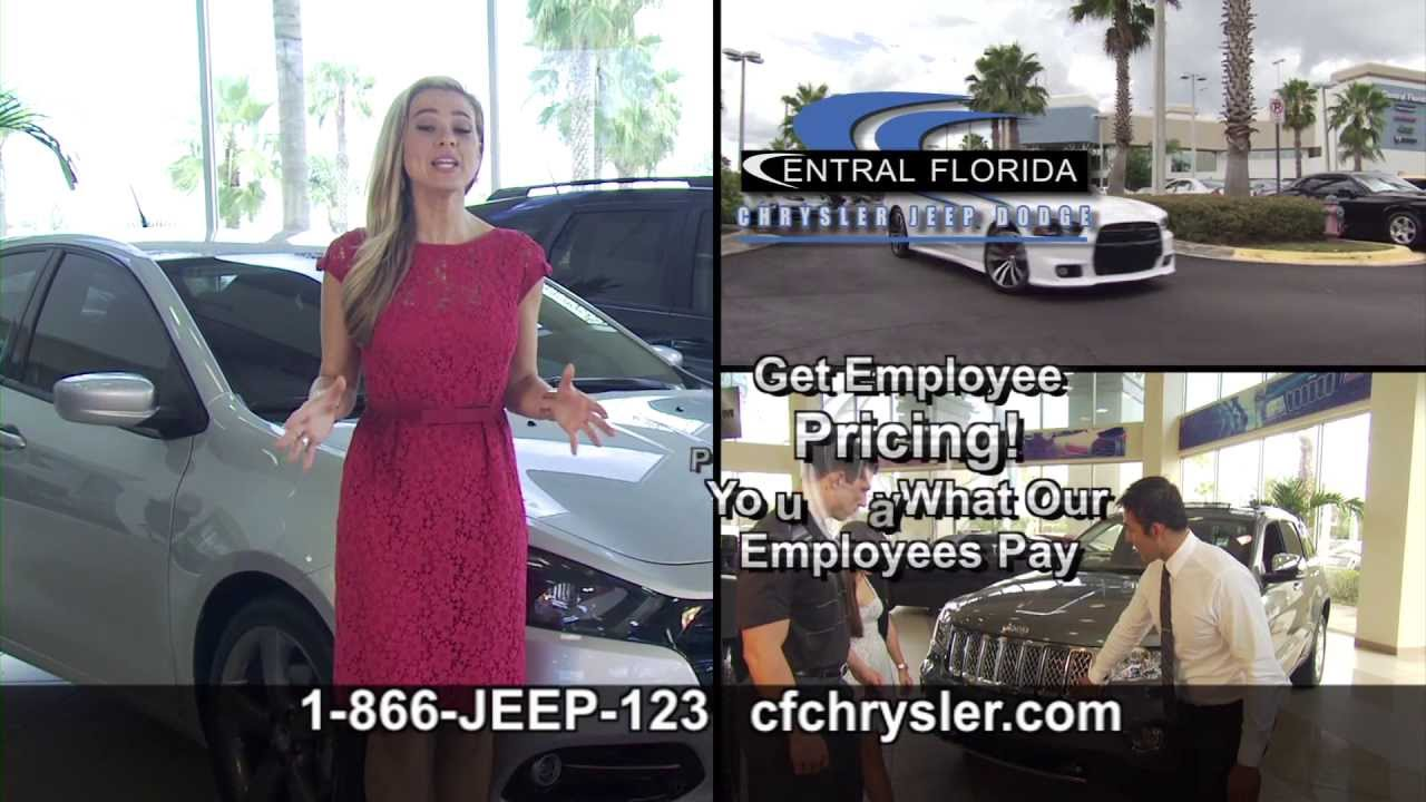 Central Florida Jeep Chrysler Dodge Employee Pricing Returns at Central Florida Chrysler Jeep ...