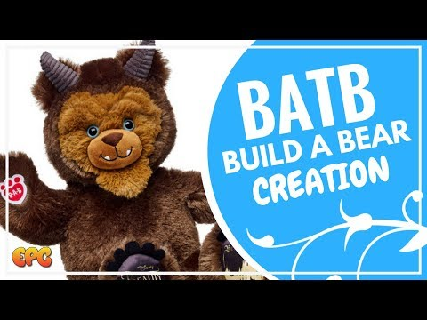 BUILD A BEAR BEAUTY AND THE BEAST | EMMA WATSON 2017 | BUILD A BEAST?