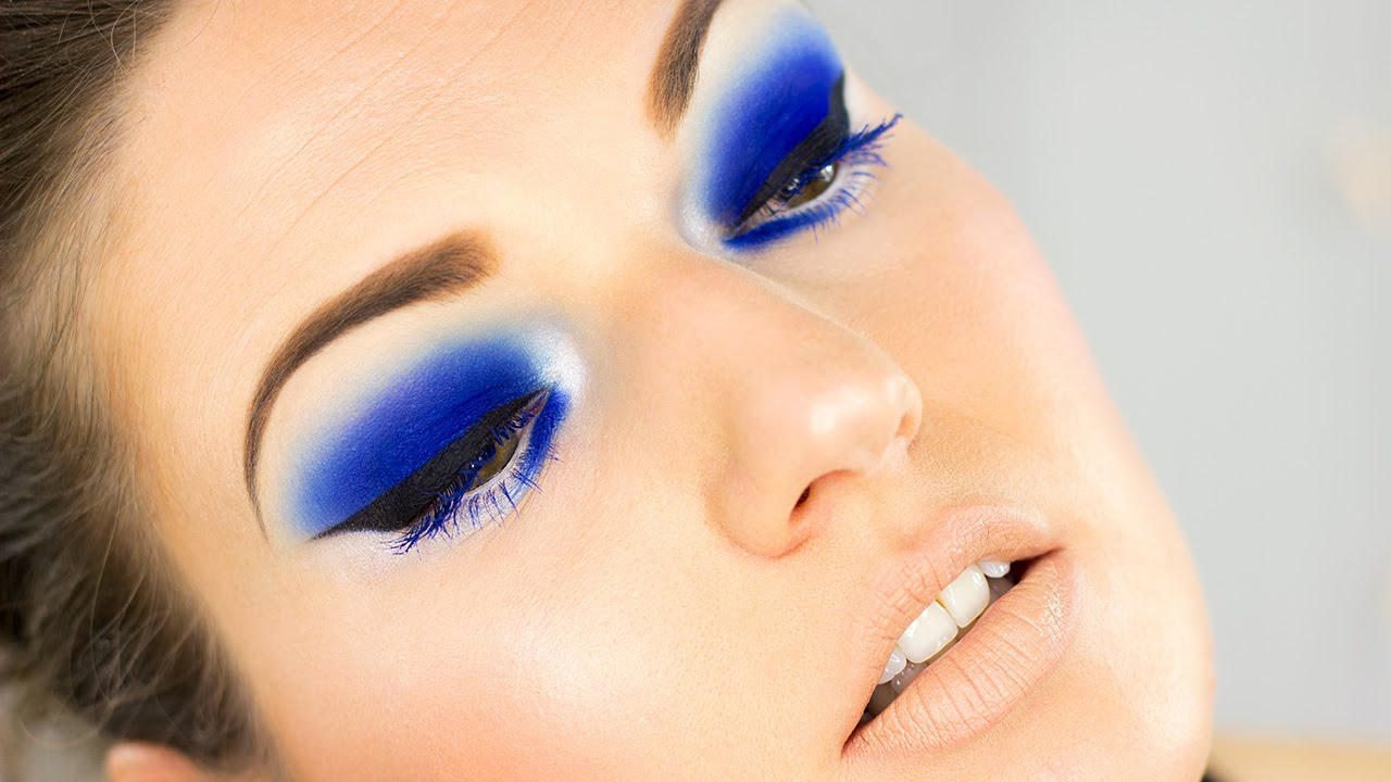 Electric Blue Nars Makeup Tutorial Youtube
