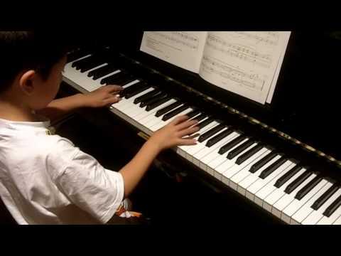 ABRSM Piano 2011-2012 Grade 2 C:3 C3 American Folk Down by the Riverside Original by RH