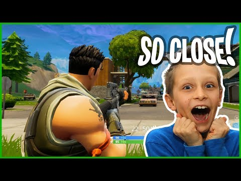 OMG so close to VICTORY! New Map Update in Fortnite...