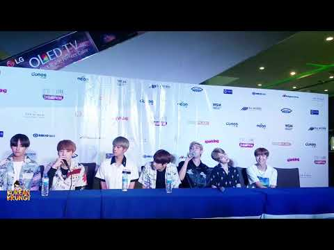[20160903] BTS 방탄소년단 - Full Press Conference | MBC SHOW CHAMPION IN MANILA