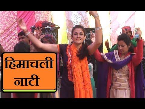 Himachali Non Stop Nati   Pahari Dance