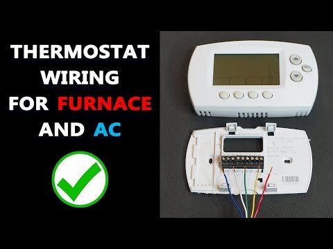 Basic Thermostat Wiring