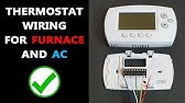 Thermostat Wiring - YouTube on