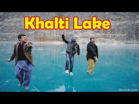 Khalti Lake Ghizer Gilgit Baltistan